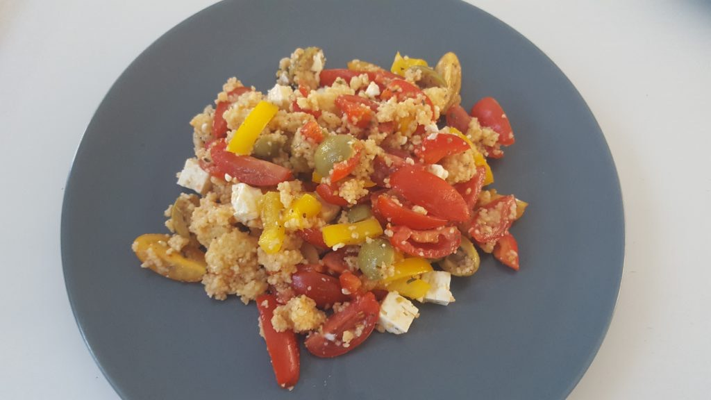 Recept couscous salade